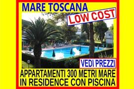 toscana marina di bibbona 500 mt dal mare bilocale in residence con piscina 2 sett 1240 dal 27 luglio al 10 agosto