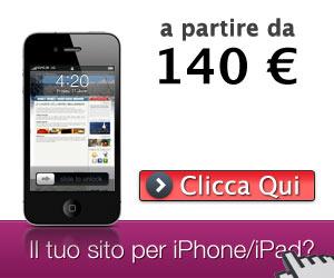 Il tuo sito per Iphone