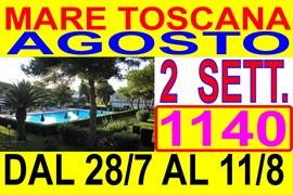 mare toscana vacanze low cost marina di bibbona affitto appartamenti 300 mt dal mare con piscina giugno luglio agosto  ( vedi listino prezzi )