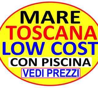 Offerta Toscana Marina di Bibbona dal 29 giugno al 13 luglio monolocale 2 sett 790 oppure bilocale 2 sett 990 appartamenti 300 metri dal mare con piscina