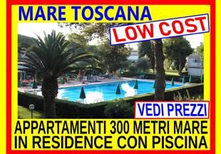 Marina di Bibbona 300 metri dal mare in residence con piscina 2 sett 1450 dal 10 al 24 agosto tutto incluso