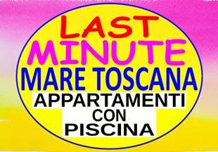 Last minute 2 sett  295 dal 1 al 15 giugno  appartamento 300 MT mare con piscina a Marina di Bibbona  Toscana
