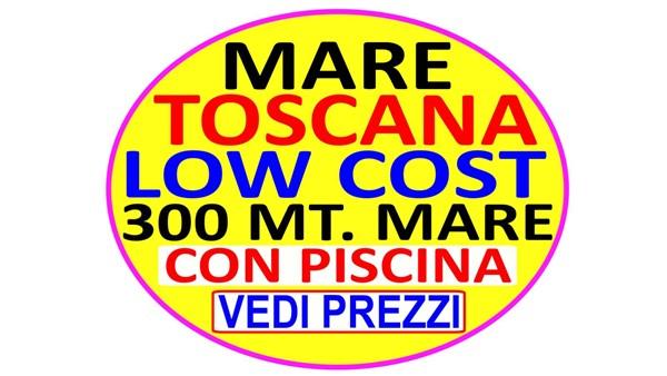 MARE TOSCANA LOW COST  MARINA DI BIBBONA 300 METRI DAL MARE CON PISCINA DAL 10 AL 24 AGOSTO EURO 1450 TUTTO INCLUSO