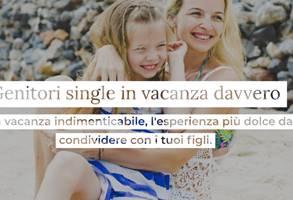 Single Eltern im Urlaub