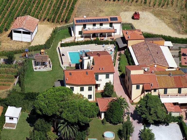 case vacanza borgo guglielmo Cecina
