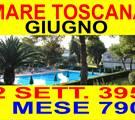 Marina di Bibbona offerte affitto vacanze mare Toscana GIUGNO 1 MESE 790 case appartamenti 300 metri mare con piscina ( VEDI ALTRE OFFERTE )