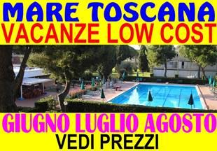 Luglio 2 sett. 840 oppure Agosto 2 sett. 1140 a Marina di Bibbona Toscana appartamenti 300 metri dal mare in residence con piscina ( vedi listino prez