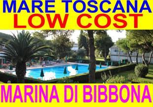 offerte low cost giugno luglio agosto mare toscana marina di bibbona affitto case appartamenti 300 metri dal mare in residence con piscina
