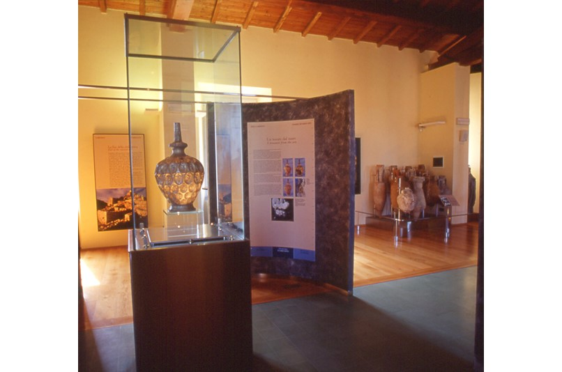 the archaeological museum of the territory of  populonia