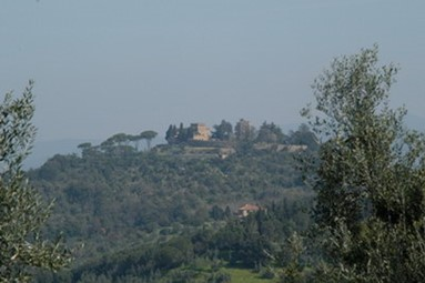 The Medieval Village of Castagneto Carducci
