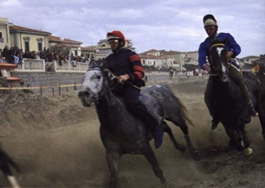 Racing silk of the Etruscan coast
