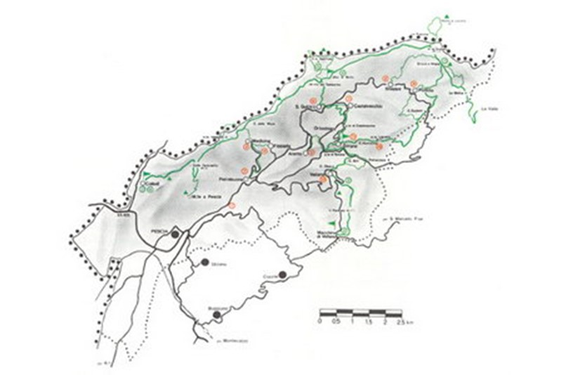 valleriana trekking