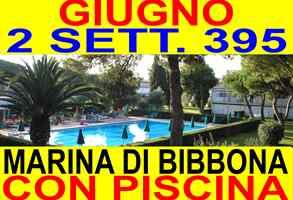 Offerte giugno luglio agosto Marina di Bibbona vacanze mare Toscana 2 SETT 395 affitto case appartamenti 300 metri mare con piscina(VEDI ALTRE OFFERTE