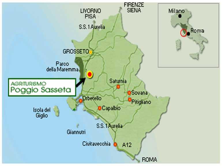 Farm Holidays Poggio Sasseta Magliano in Toscana